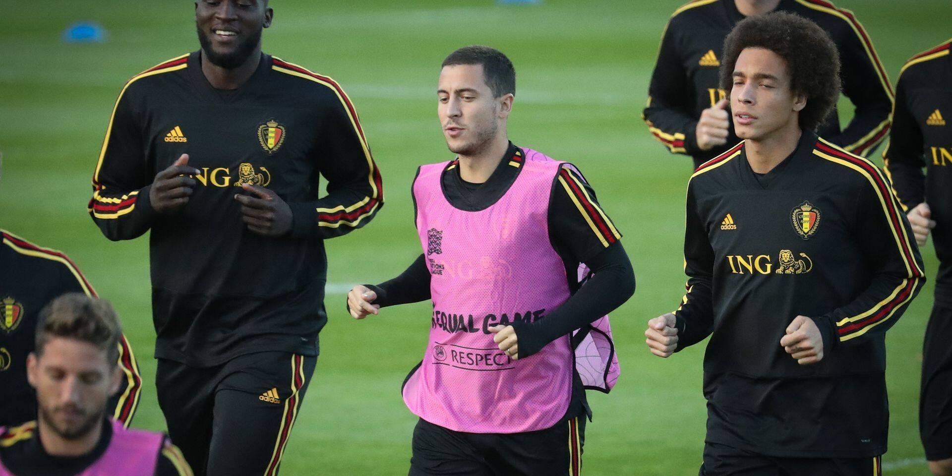 La vie sans Eden, Witsel et Lukaku: quelle sélection pour Martinez?