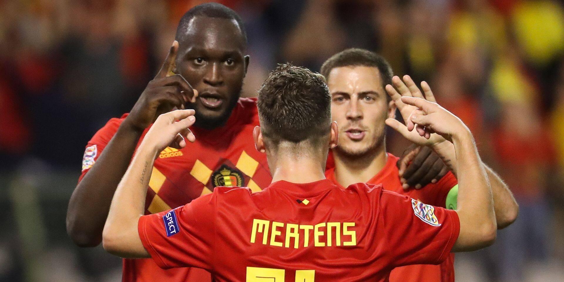 """Les Diables félicitent Lukaku pour ses 10 ans en sélection nationale : """"Je ne veux pas que tu marques 150 buts"""""""