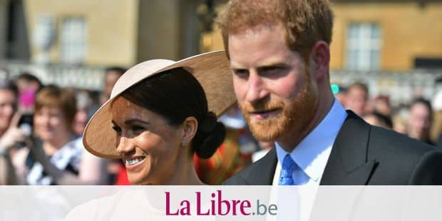 The Duke and Duchess of Sussex at a garden party at Buckingham Palace in London which they are attending as their first royal engagement as a married couple. The event is part of the celebrations to mark the70th birthday of the Prince of Wales. Reporters / Photoshot