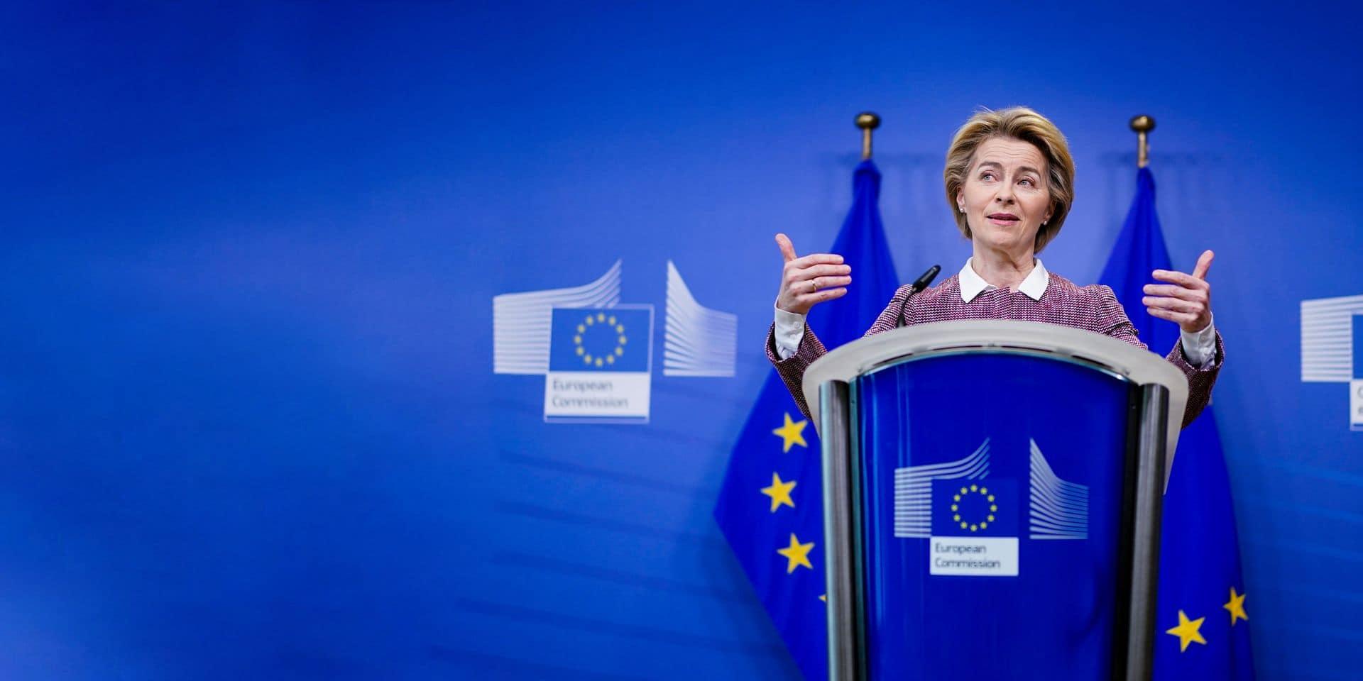 Ursula von der Leyen tient la barre de la Commission européenne. Fermement