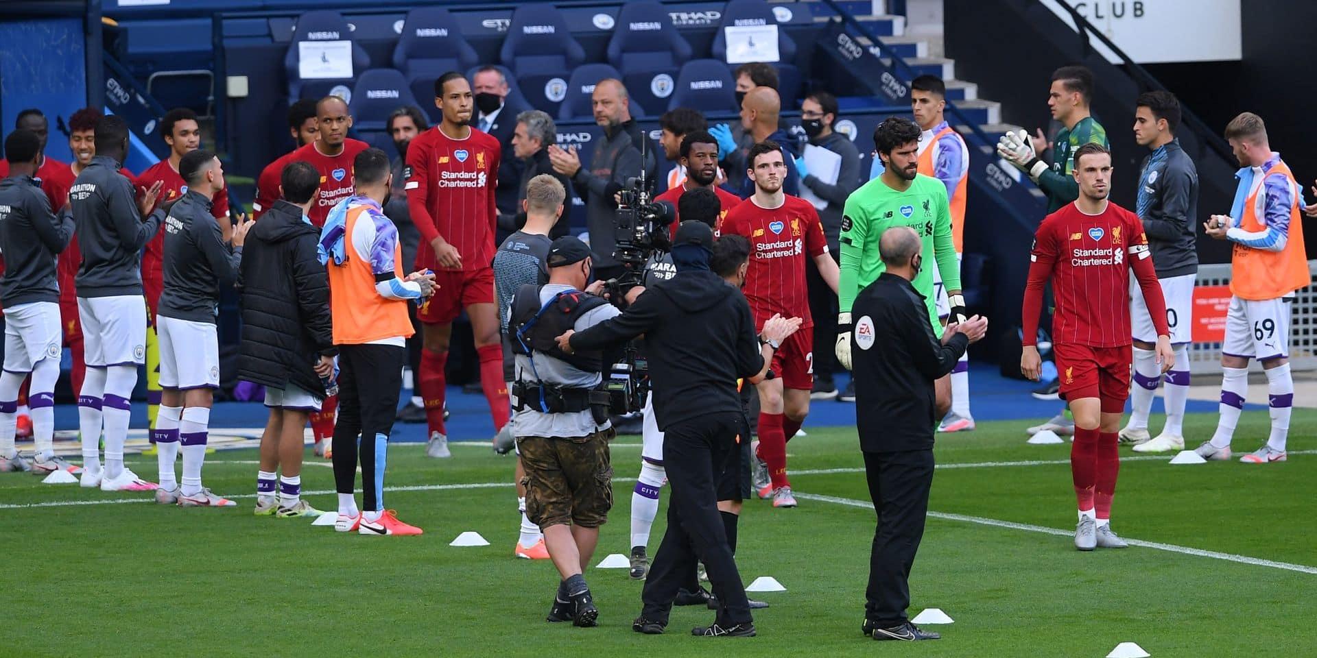 Kevin De Bruyne et ses coéquipiers ont applaudi les Reds, mais un joueur n'en avait pas envie