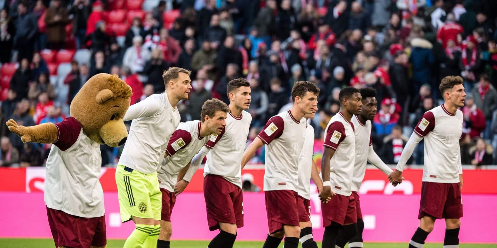 Le Bayern conforte son avance, le virus menace la Bundesliga