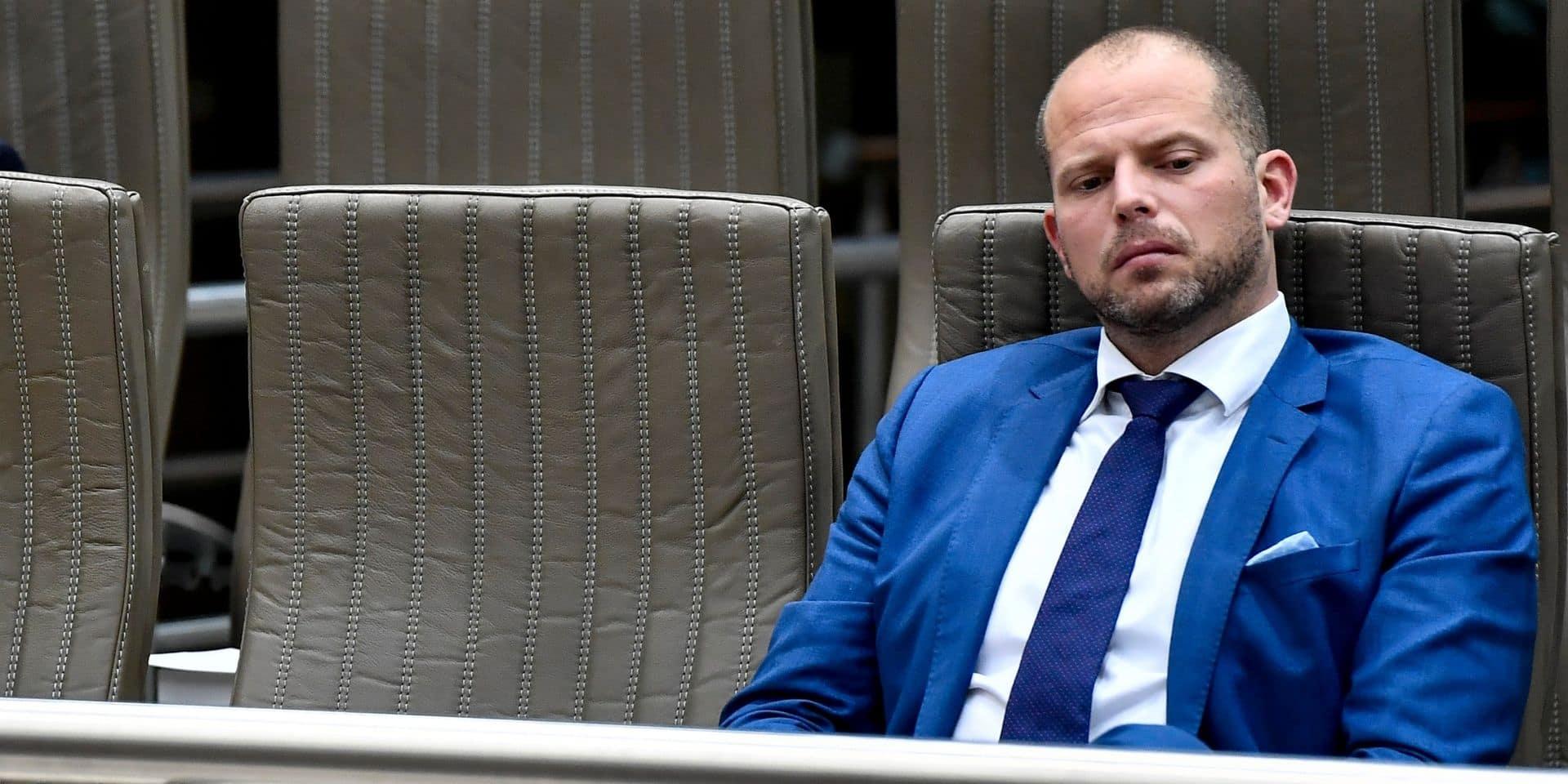 """Theo Francken agite la menace du Vlaams Belang en cas de gouvernement sans la N-VA: """"L'arc-en-ciel, c'est jaune-noir en 2024"""""""