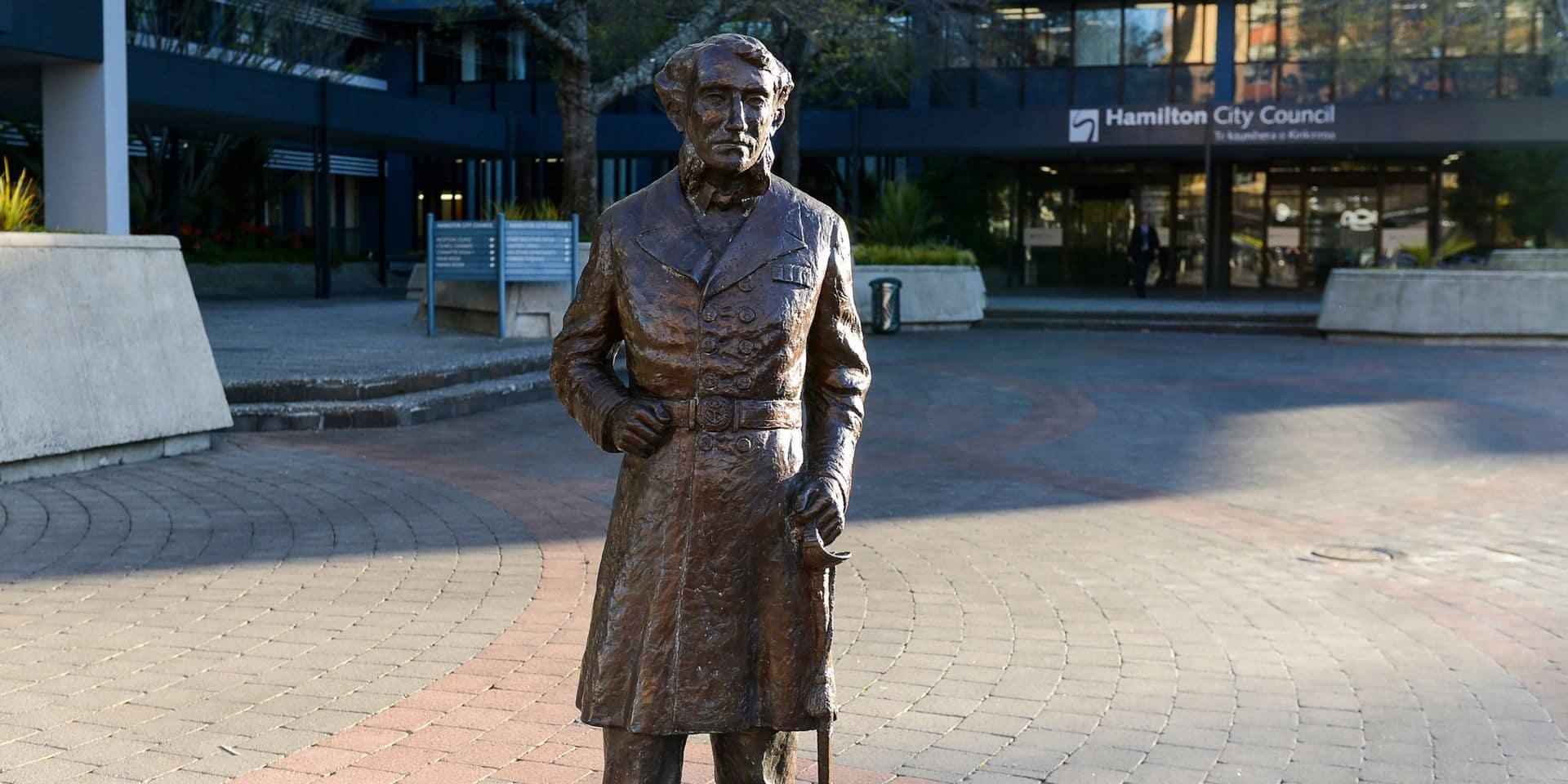 La Nouvelle-Zélande retire la statue controversée d'un commandant britannique