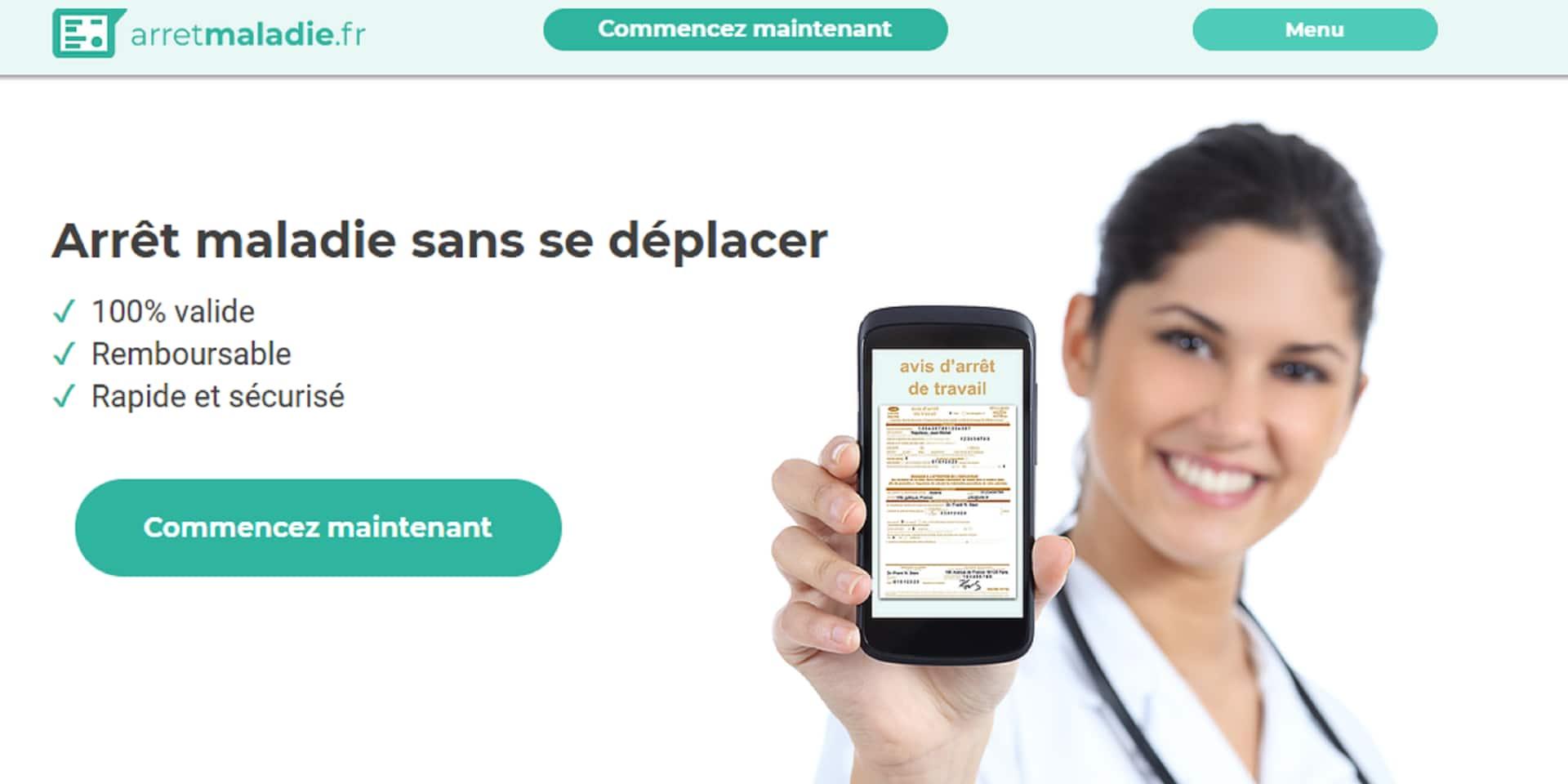Un arrêt maladie obtenu sans aller chez le médecin? Un nouveau site internet fait polémique en France
