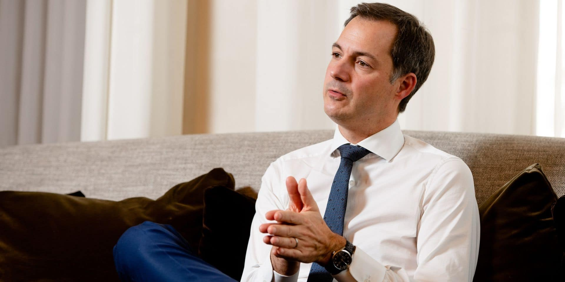 """Alexander De Croo réagit à l'annonce de Jan Jambon: """"Nous ne pouvons pas laisser notre pays se diviser sur la lutte contre le virus"""""""