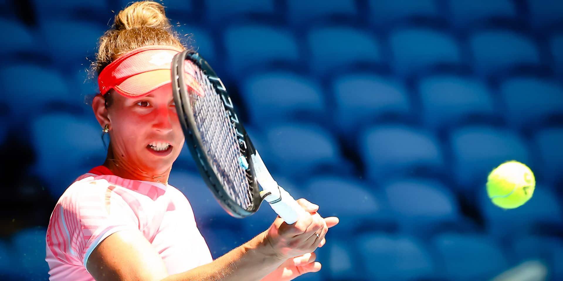 WTA Dubai: Malgré six balles de match sauvées, Elise Mertens s'incline face à Muguruza en demi-finale