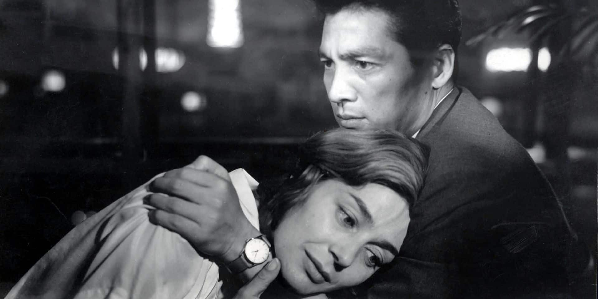 hiroshima mon amour Emmanuelle Riva, Eiji Okada Directed by Alain Resnais E.PP