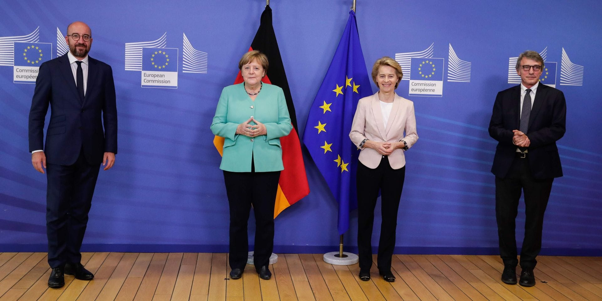 Un budget et un plan de relance européens, vingt-sept positions à accorder