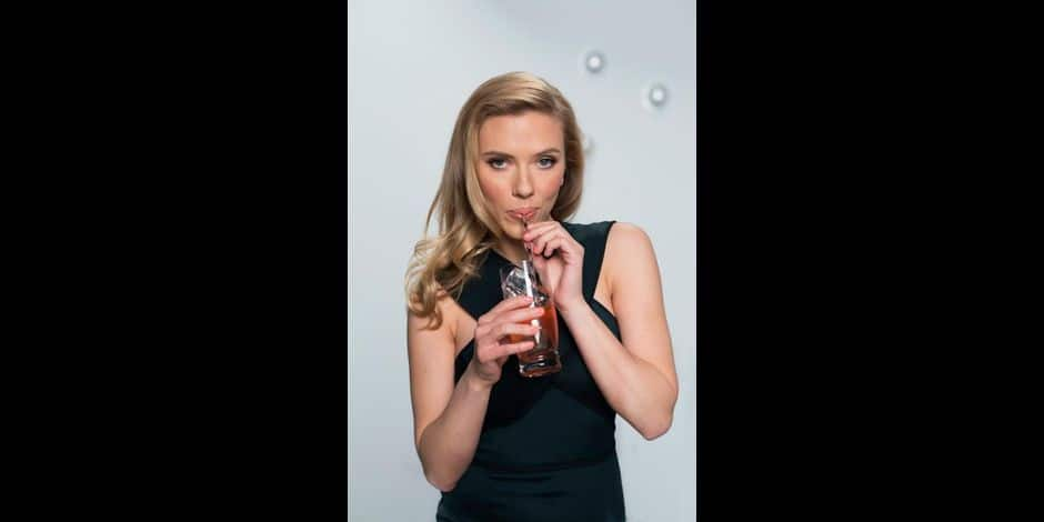 Scarlett Johansson sizzles in SodaStream Super Bowl ad