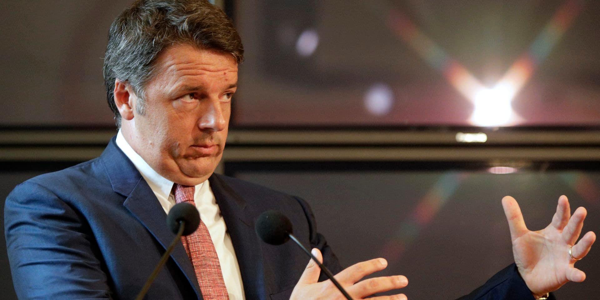 """Italie: Renzi de retour contre """"l'autre Matteo"""""""