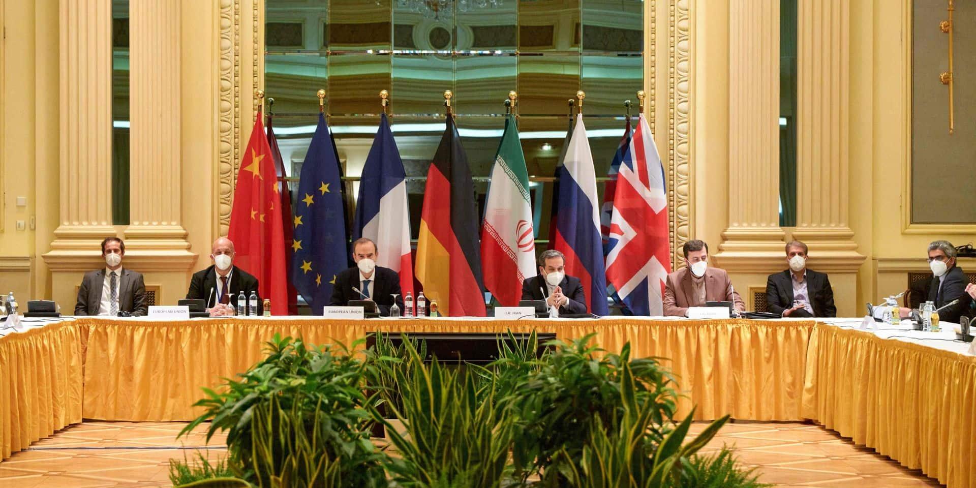 """Discussions sur le nucléaire iranien: les négociateurs actent des """"progrès"""""""