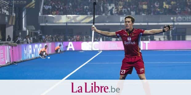 Belgium's Tom Boon gestures during a hockey game between Belgian national team the Red Lions and India, match 2/3 in group C in the first round of the World Cup, Sunday 02 December 2018 in the Kalinga Stadium in Bhubaneswar, India. BELGA PHOTO DANIEL TECHY