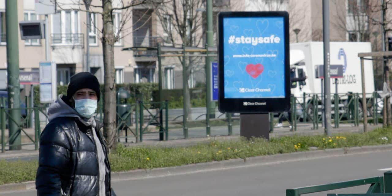 Confinement: les Belges ont réduit leurs déplacements de moitié