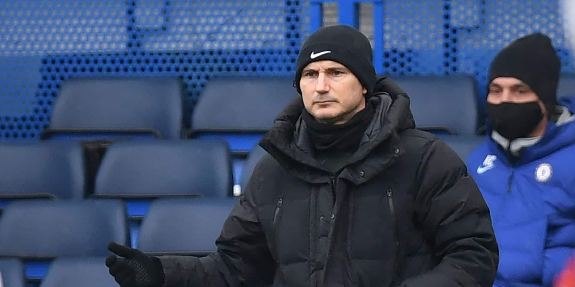 Officiel: Frank Lampard licencié par Chelsea