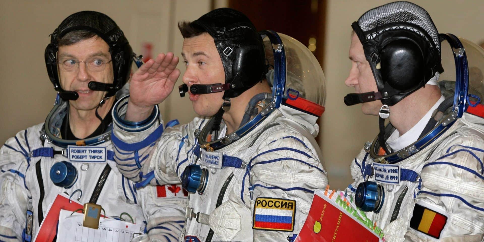 """Frank De Winne : """"Un astronaute doit pouvoir être un leader, mais aussi un follower"""""""