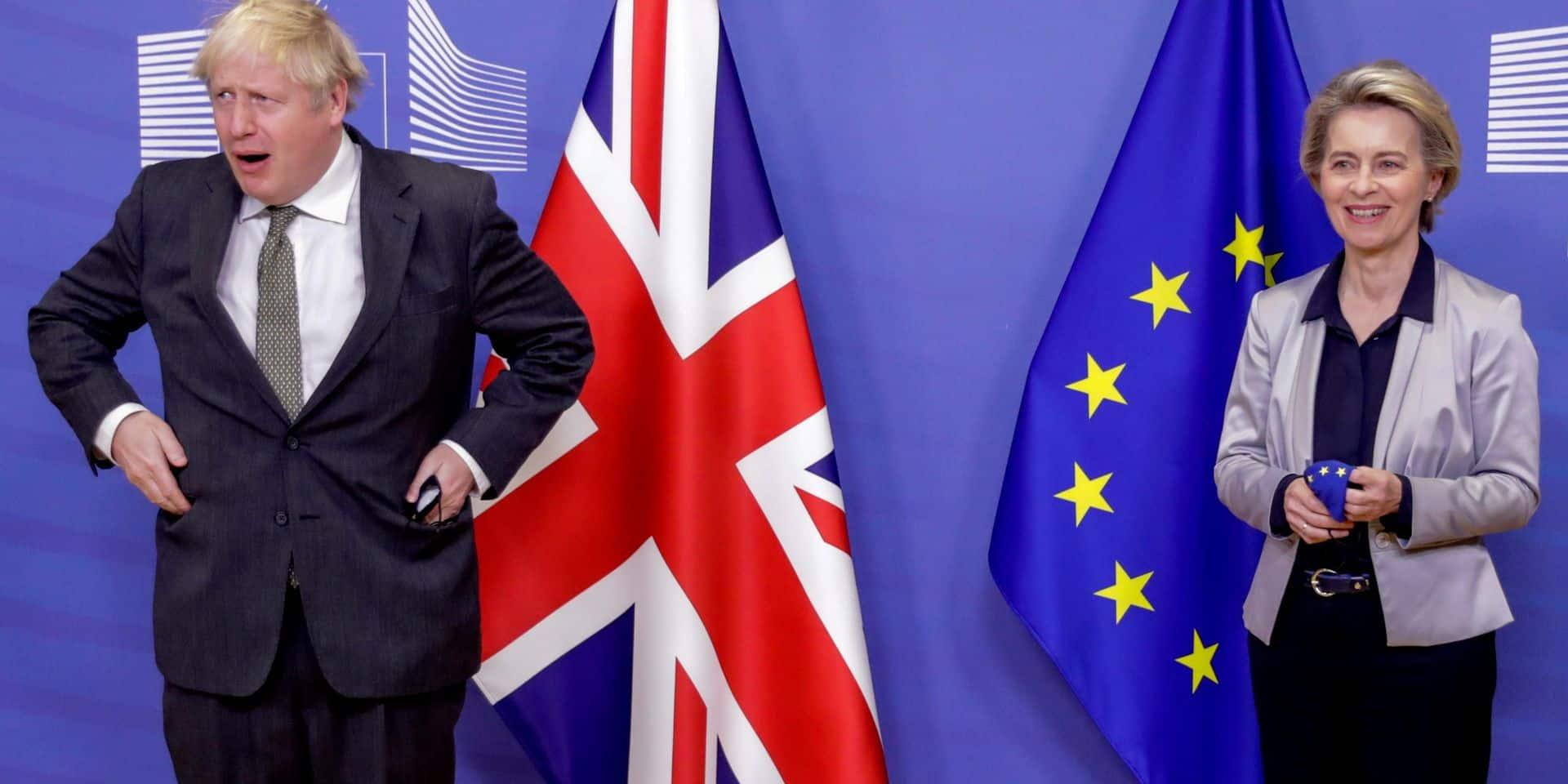 """Johnson assure à l'UE: """"Nous serons votre ami, vos allié et votre premier marché"""""""