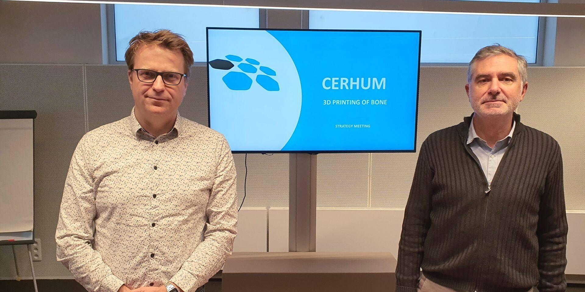 La start-up Cerhum se profile en future championne des implants osseux sur-mesure