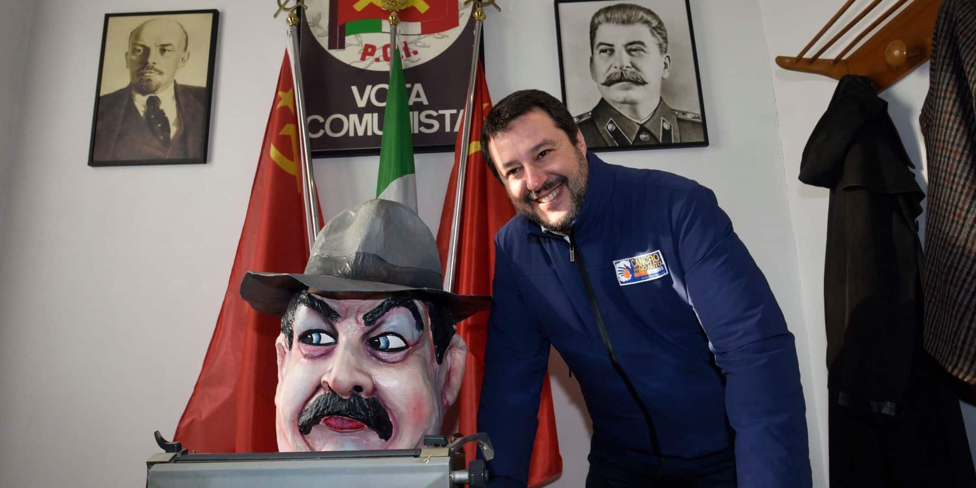 Matteo Salvini veut s'emparer de la forteresse rouge