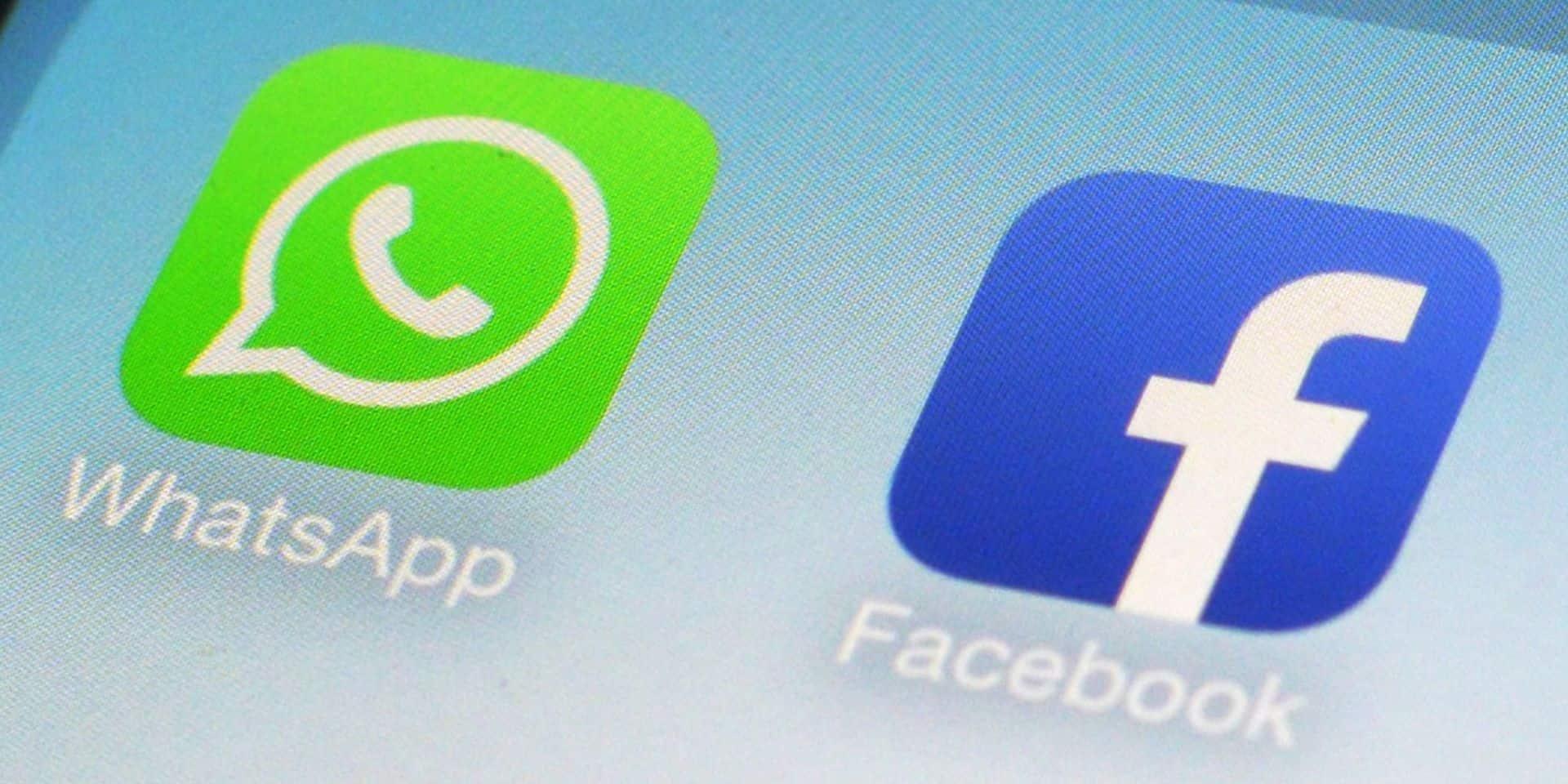 Facebook et WhatsApp ne répondront plus aux demandes d'information de Hong Kong sur les utilisateurs