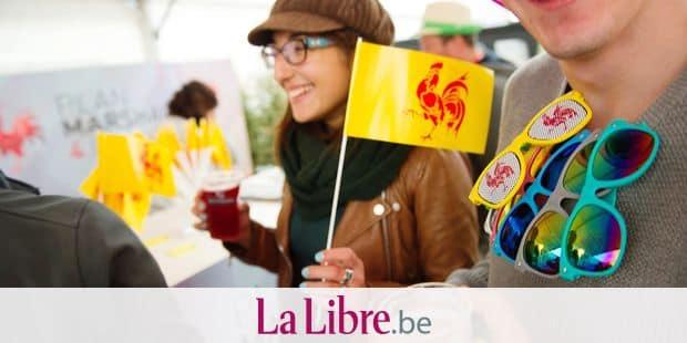 20150919 - NAMUR, BELGIUM: Illustration picture shows the festivities at the 'Fetes de Wallonie' (Wallonia feasts) in Namur, Saturday 19 September 2015. BELGA PHOTO ANTHONY DEHEZ