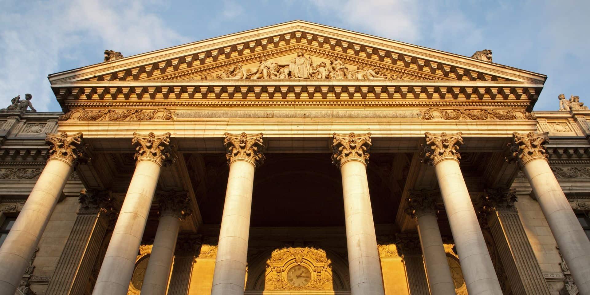 Les Bourses européennes finissent la journée en progression, le Bel 20 parmi les indices les mieux orientés