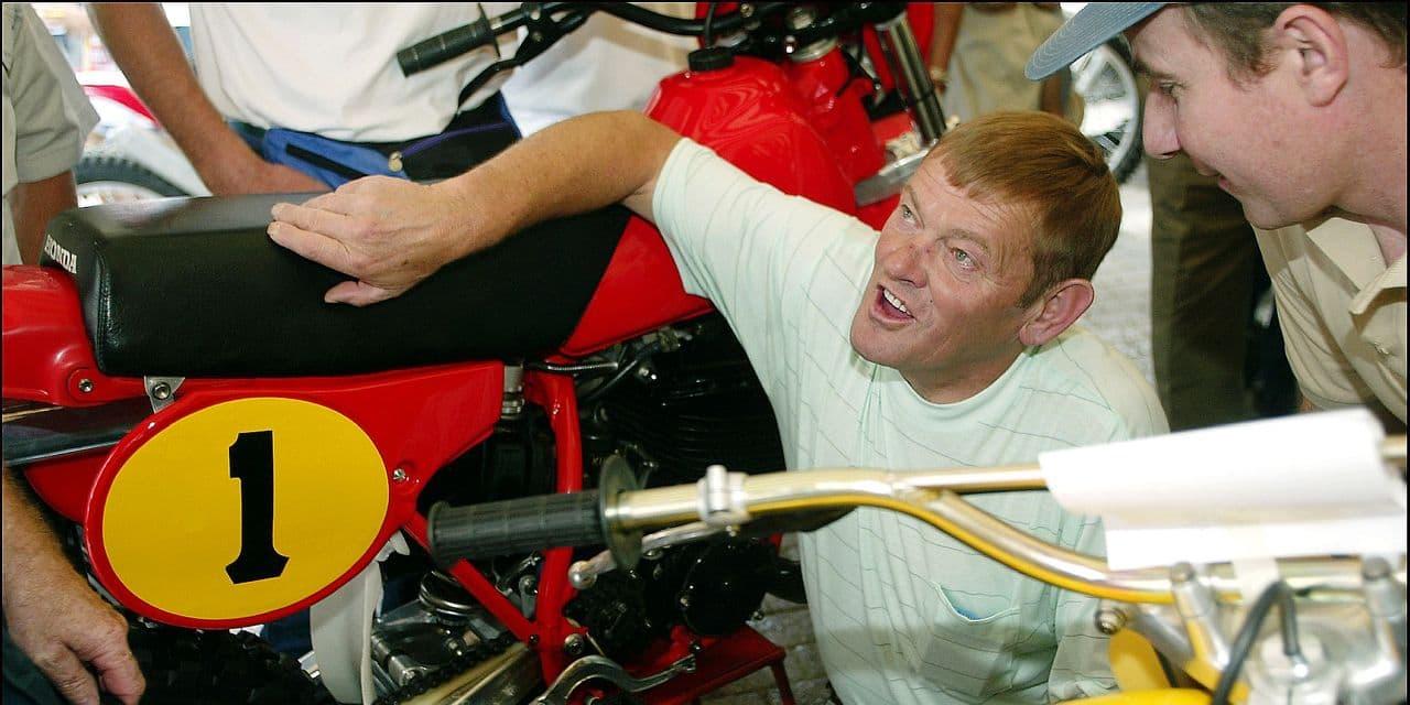La légende belge du motocross Joël Robert est décédée