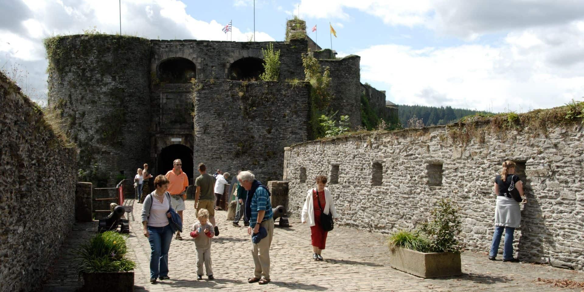 Bouillon : 36.000 entrées en moins au château