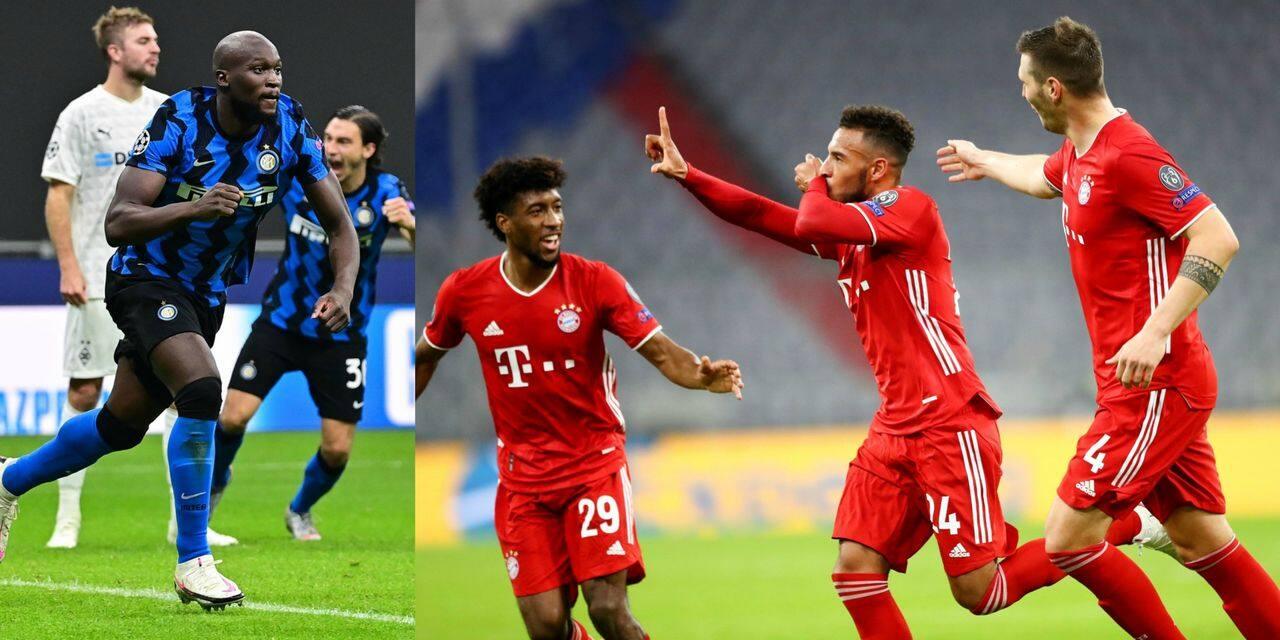 Champions League: victoire écrasante du Bayern Munich face à l'Atletico Madrid, doublé de Lukaku contre Mönchengladbach