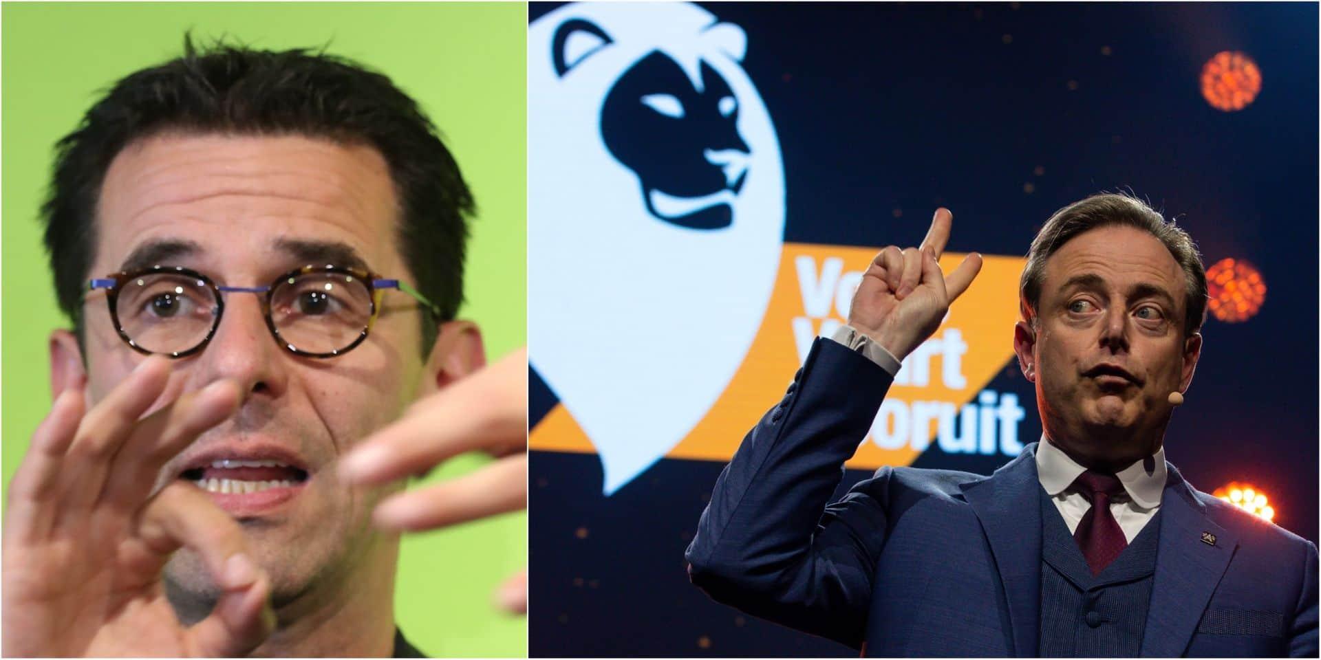 """Jean-Marc Nollet met en garde les partis au sujet de la N-VA: """"Elle n'a qu'un seul intérêt"""""""