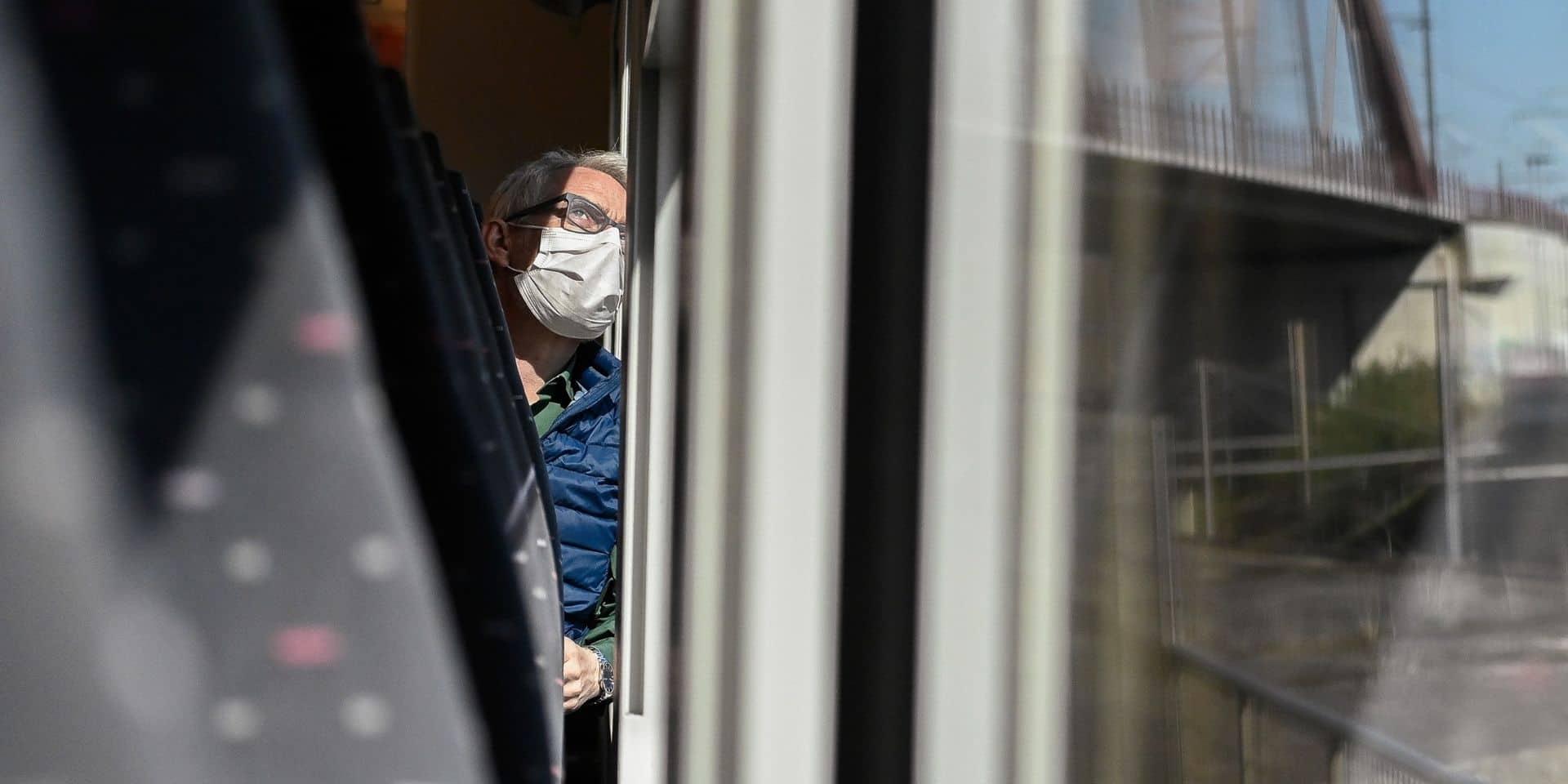 """La """"mesure de la fenêtre"""" plutôt bien respectée dans les trains"""