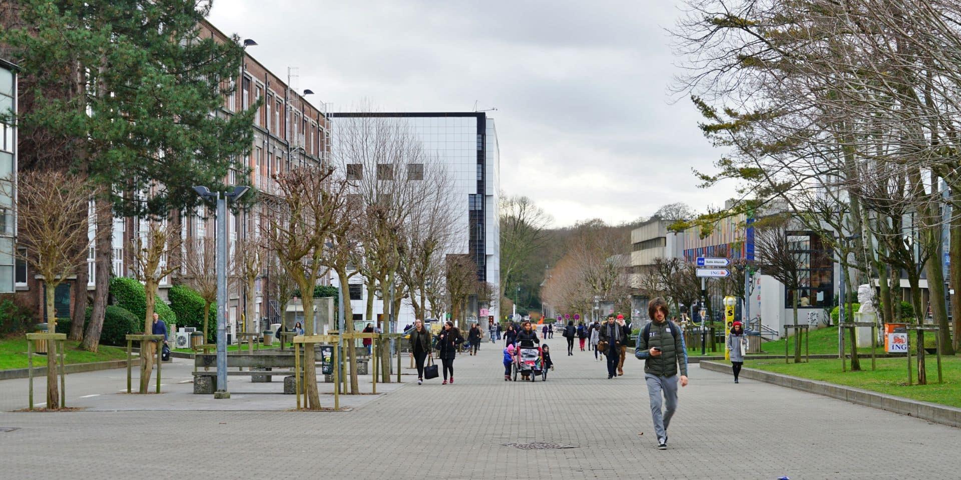 Environ 400 étudiants font part de leur détresse sur le campus du Solbosch de l'ULB