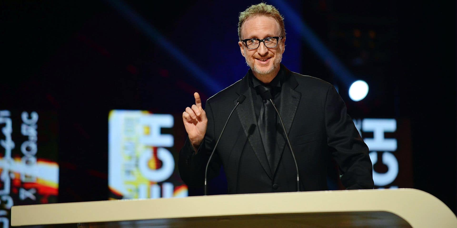 (181201) -- MARRAKECH, Dec. 1, 2018 () -- Jury President James Gray addresses the opening ceremony of the Marrakech International Film festival in Marrakech, Morocco, Nov. 30, 2018. The 17th edition of Marrakesh International Film Festival kicked off on Friday night in the presence of numerous stars from Morocco, Arab region and the world. (/Aissa) (yy) Reporters / Photoshot