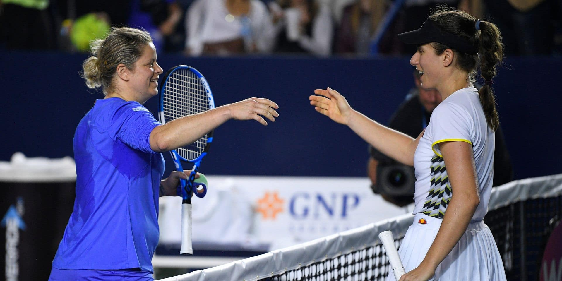 """Analyse de la défaite de Clijsters : """"Gros progrès au service, mais manque de fraîcheur après une heure de match"""""""