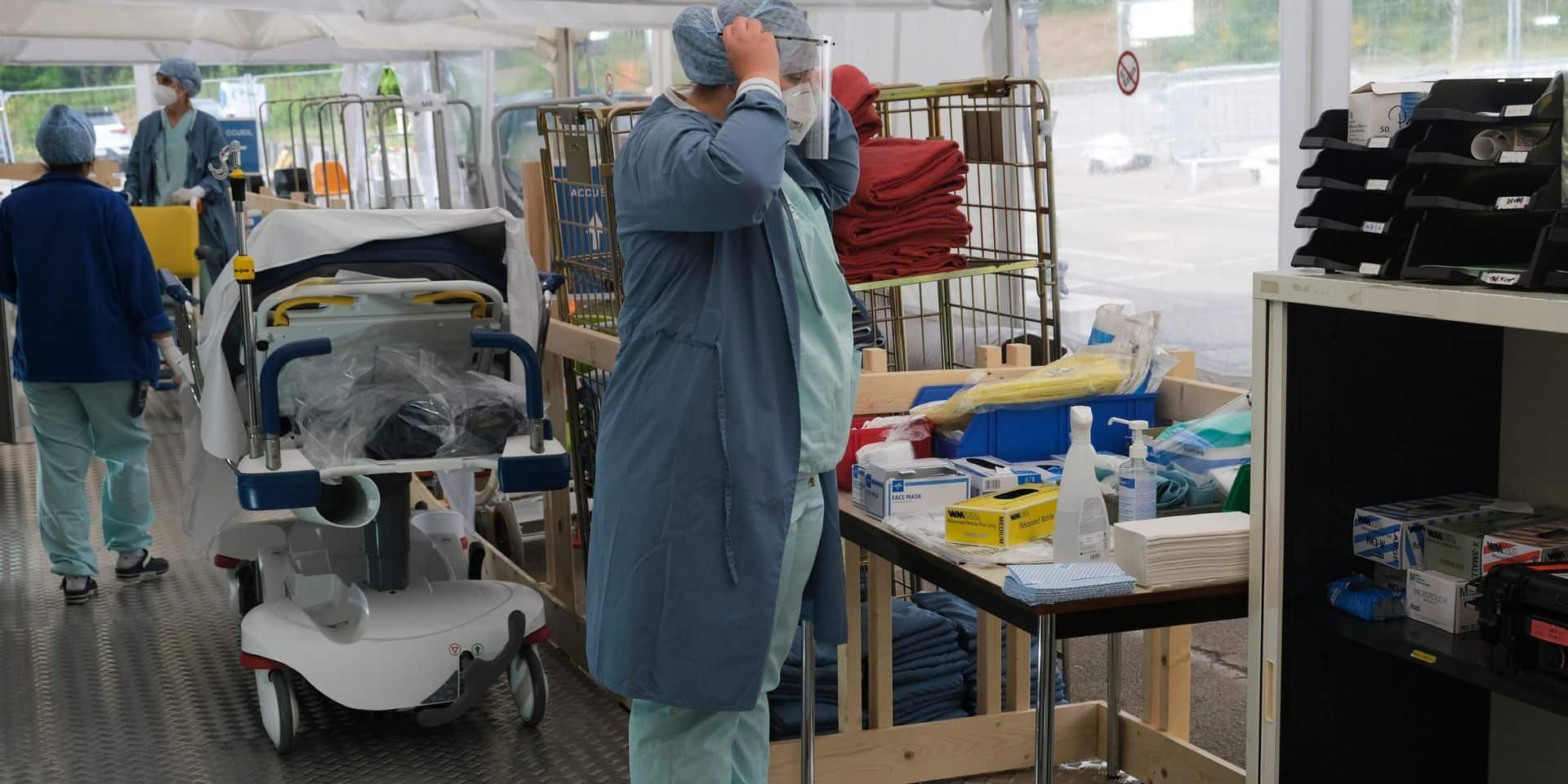 Coronavirus en Belgique: le nombre moyen d'infections quotidiennes repasse sous la barre des 2.000