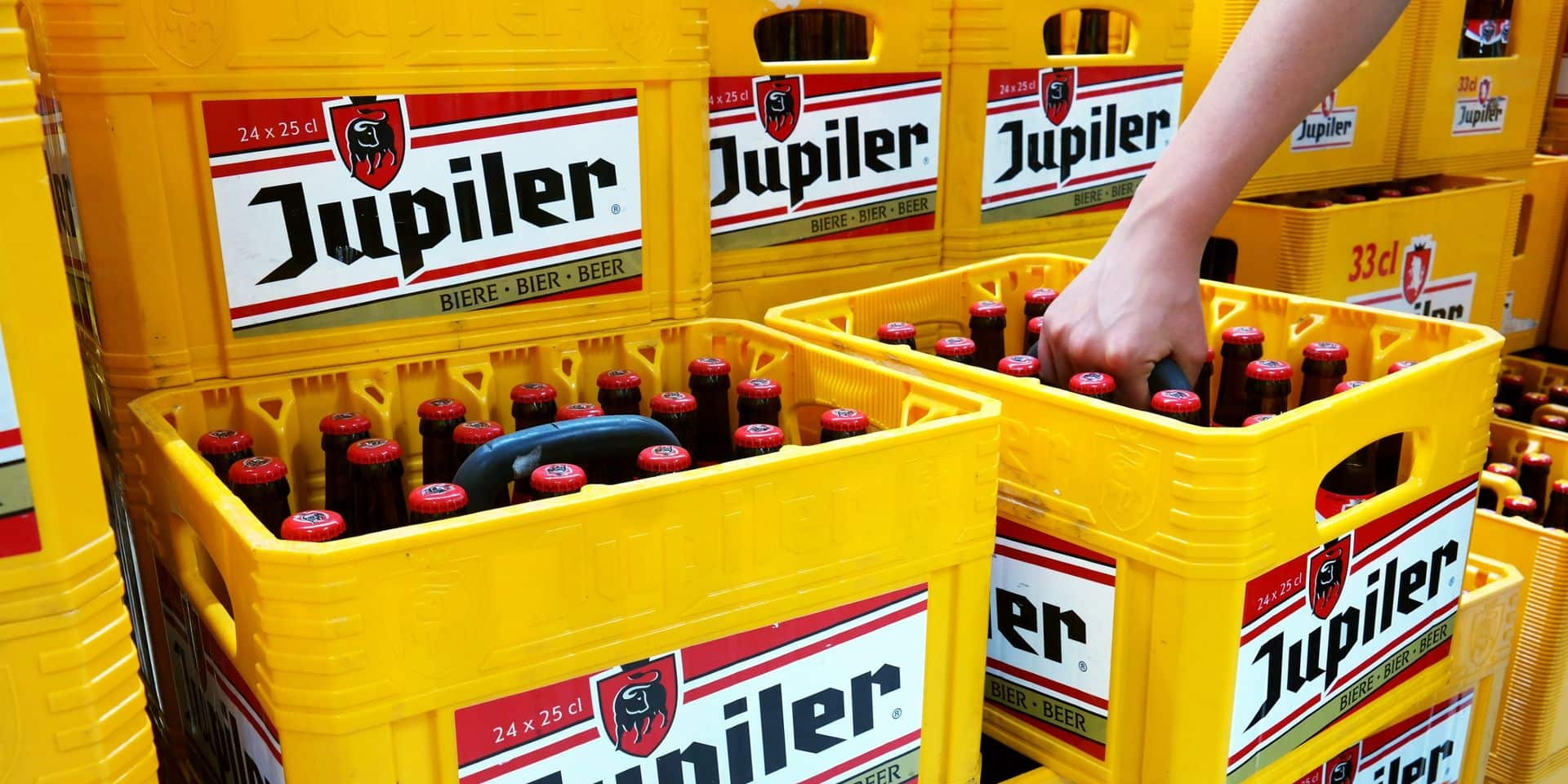 Offensive marketing sans précédent de Jupiler
