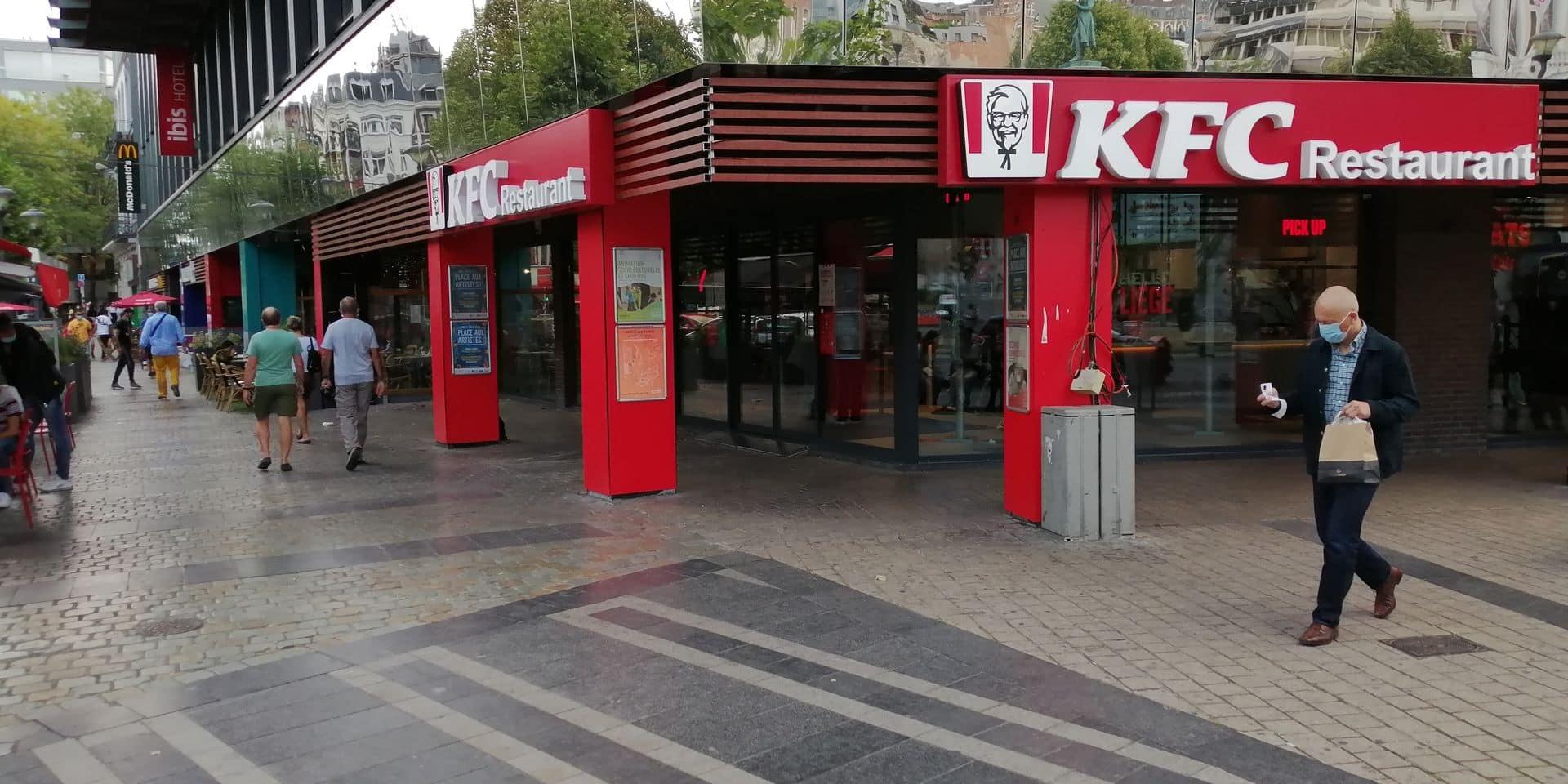 Urbanisme à Liège : KFC rappelé à l'ordre