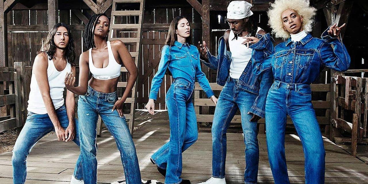 Solange Knowles pose pour la nouvelle collection Calvin Klein