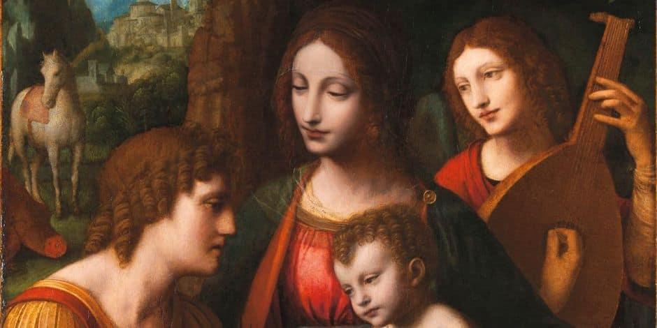 2,3 millions d'euros pour un tableau de Bernardino Luini, disciple de Léonard de Vinci