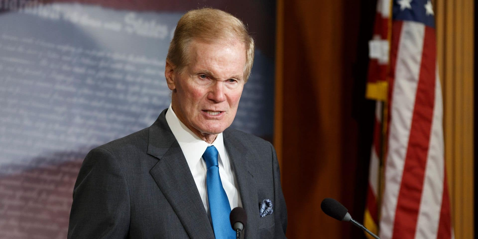 Bill Nelson, ancien sénateur démocrate, a été choisi par Biden pour diriger la Nasa