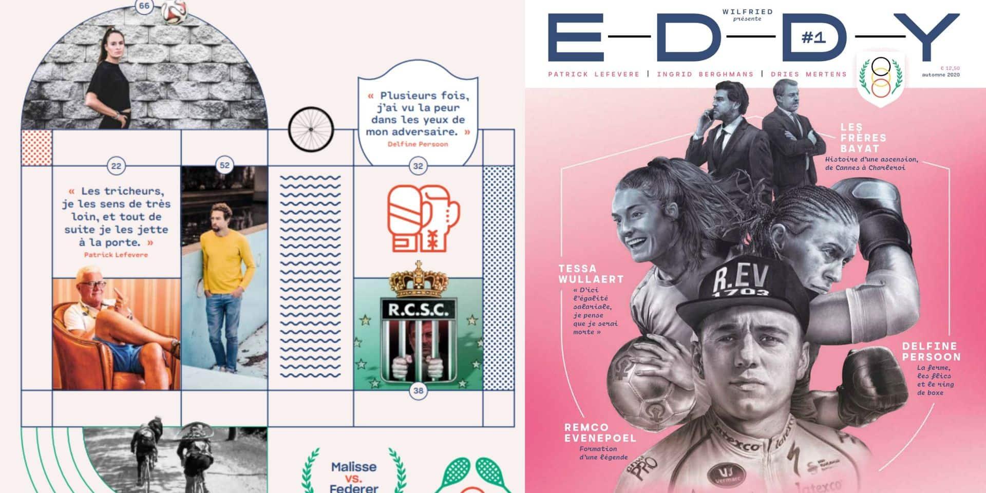 """Eddy"", magazine sportif belge innovant, prend la roue de ""Wilfried"" dès ce vendredi"
