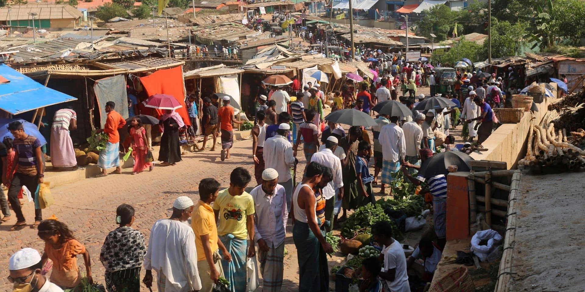 """Le Bangladesh affirme avoir """"contenu avec succès"""" le coronavirus dans les camps rohingyas"""