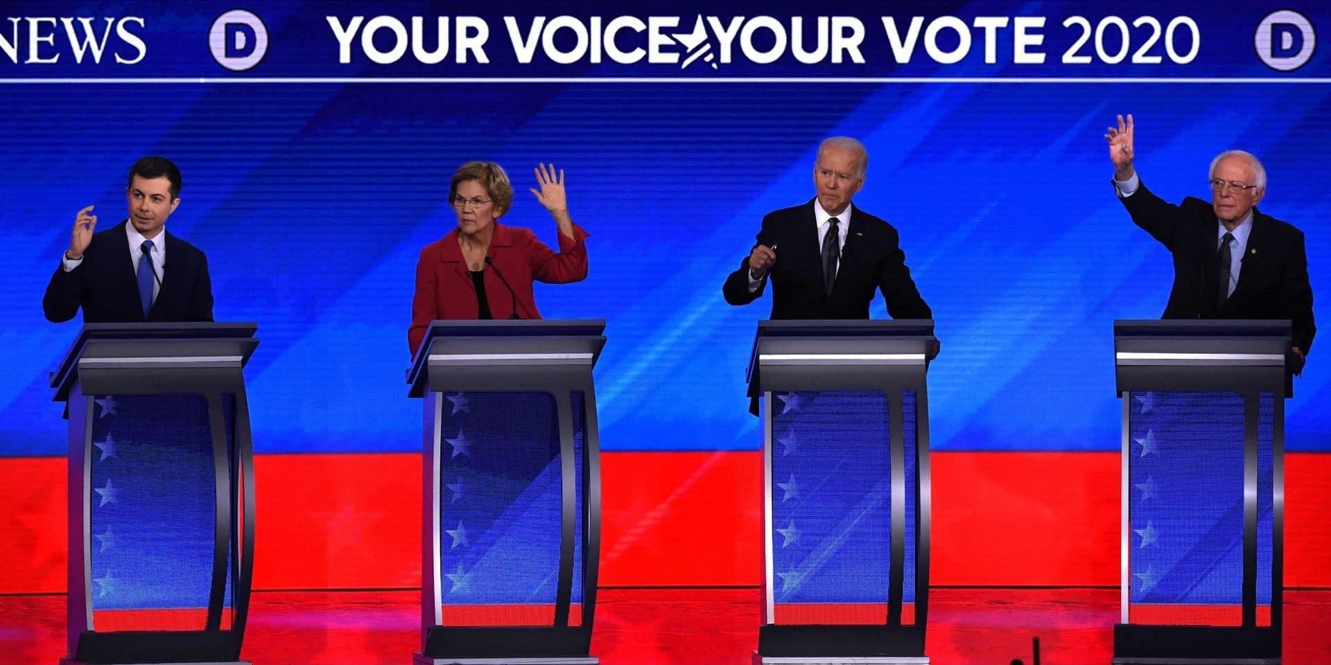 Qui va prendre la tête de la course démocrate ? Une nouvelle étape des primaires sous l'oeil moqueur de Trump