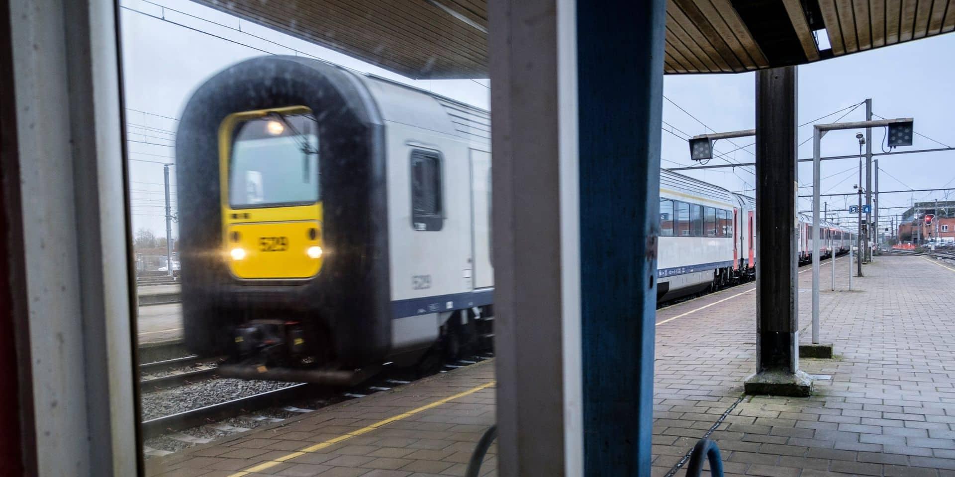 La ponctualité des trains a augmenté en janvier
