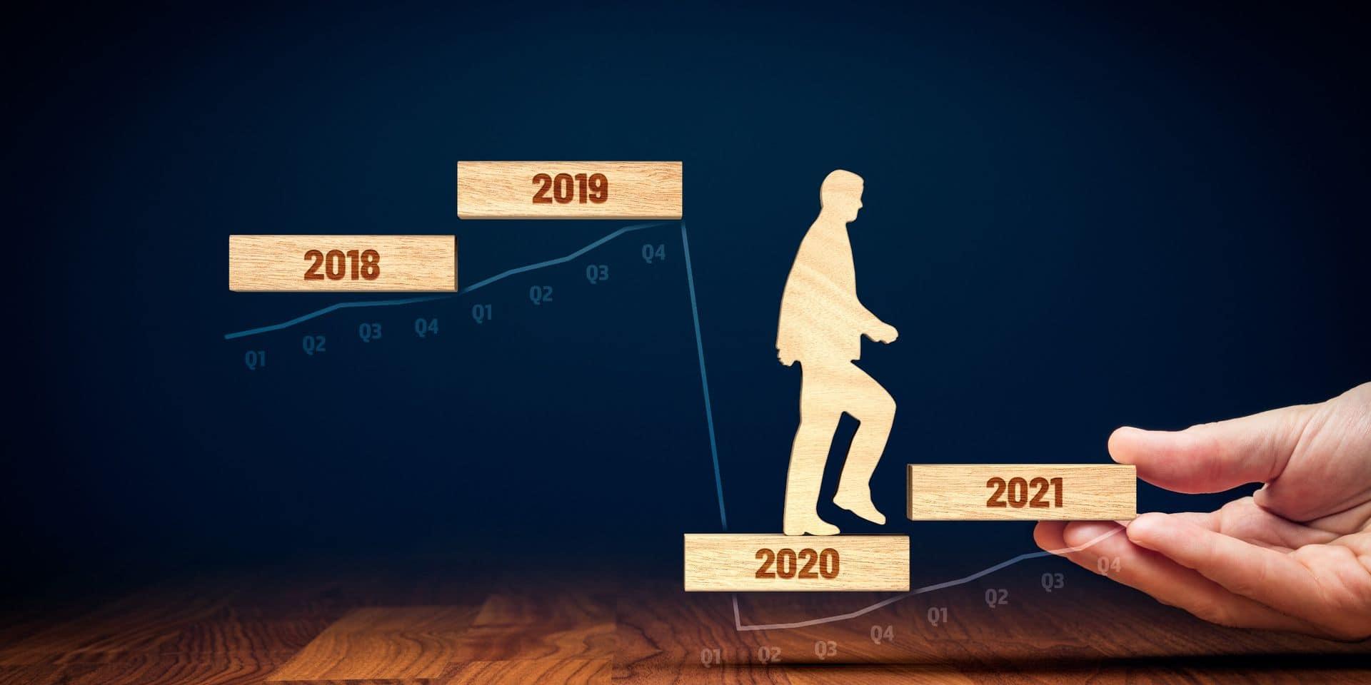 Malgré sa hausse au 3ème trimestre de 2020, le PIB de plusieurs pays reste inférieur à celui du même trimestre de 2019.
