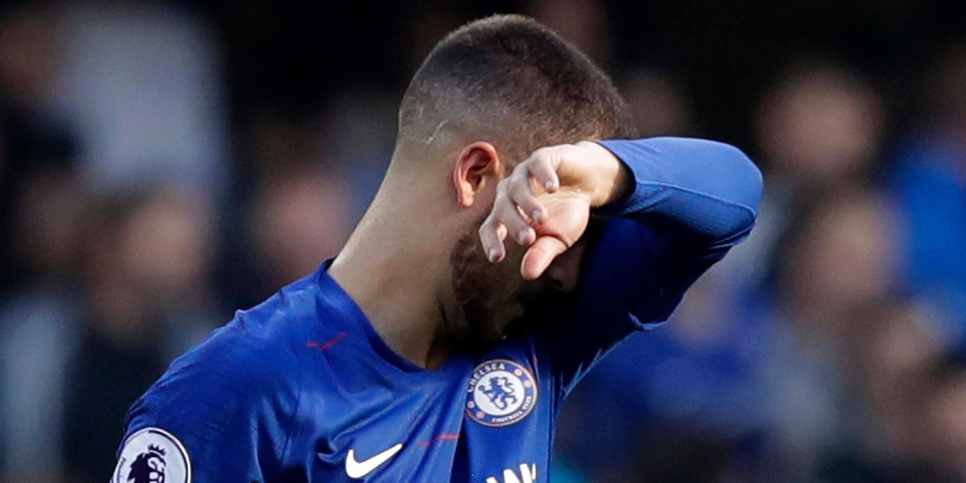 Eden Hazard et Romelu Lukaku se quittent dos à dos après Chelsea - Manchester United