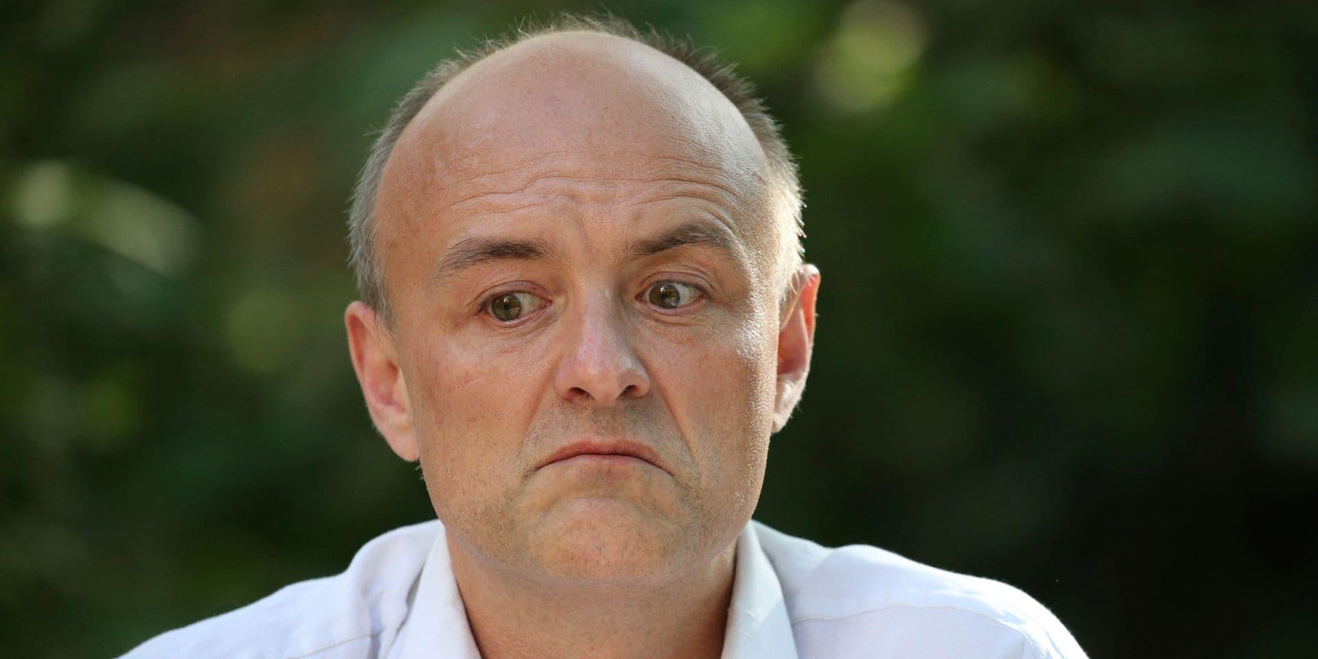 Dominic Cummings, ex-conseiller du Premier ministre Boris Johnson, est dans la tourmente.
