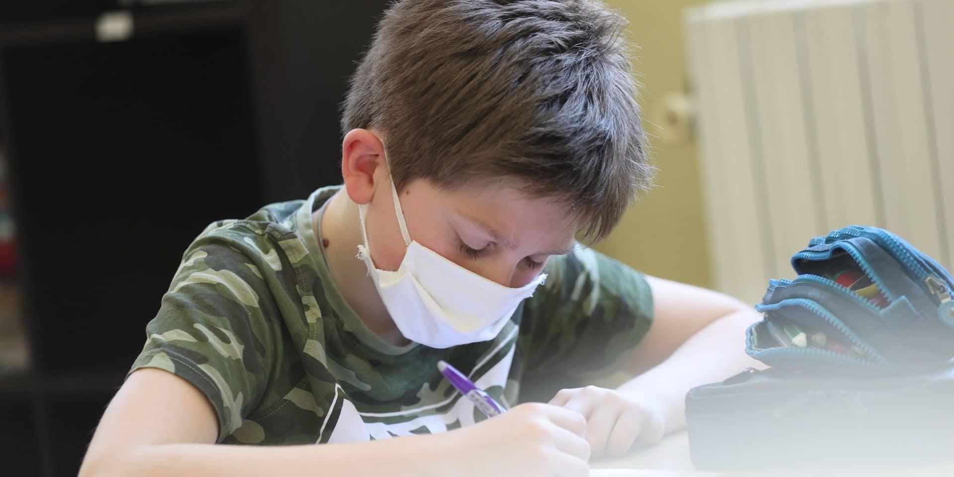 """La Flandre annonce la réouverture de toutes les classes maternelles et primaires: """"Nous donnons de l'espoir à tous les enfants"""""""