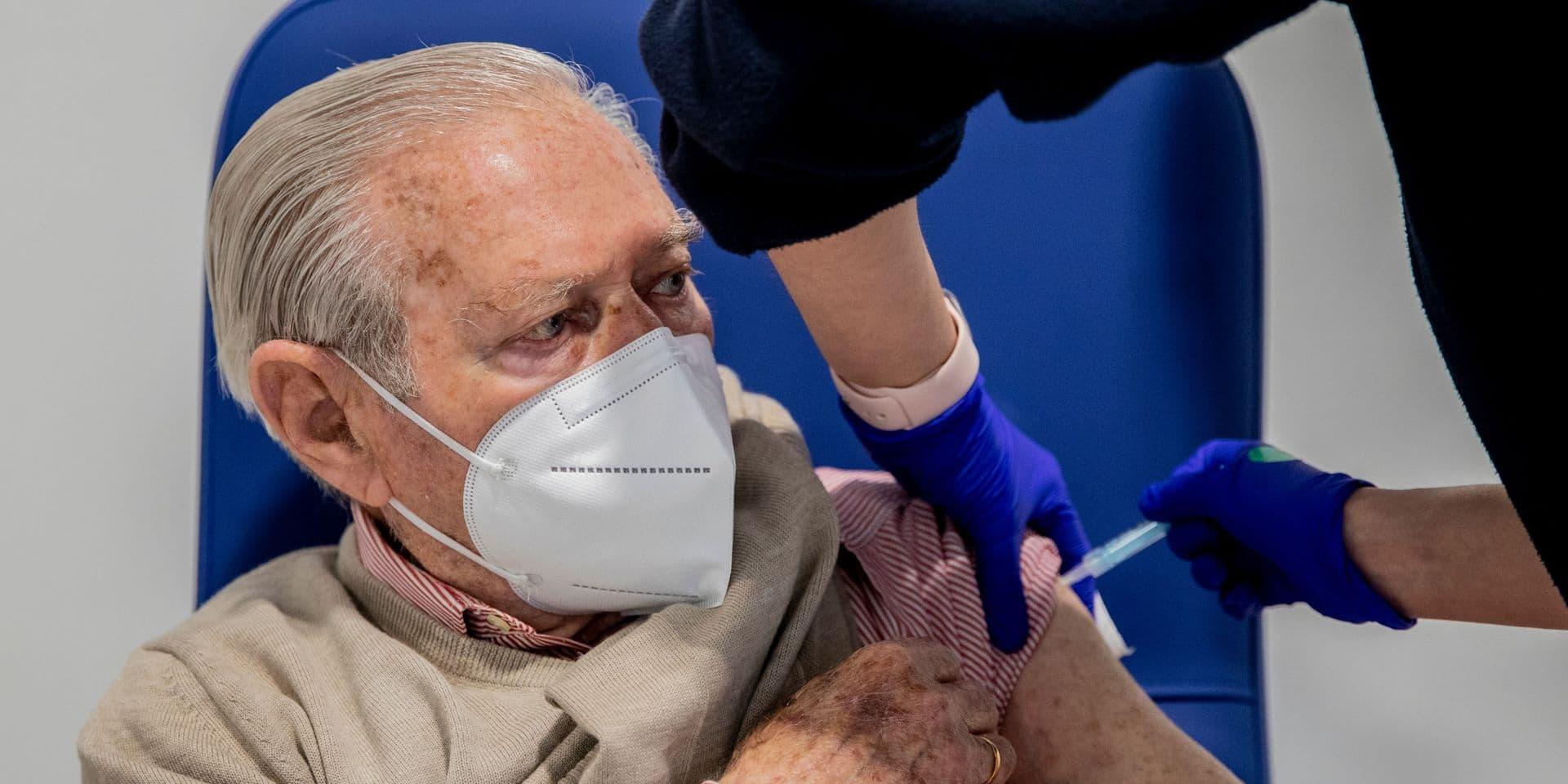 L'Espagne élève à 65 ans l'âge maximum pour le vaccin d'AstraZeneca