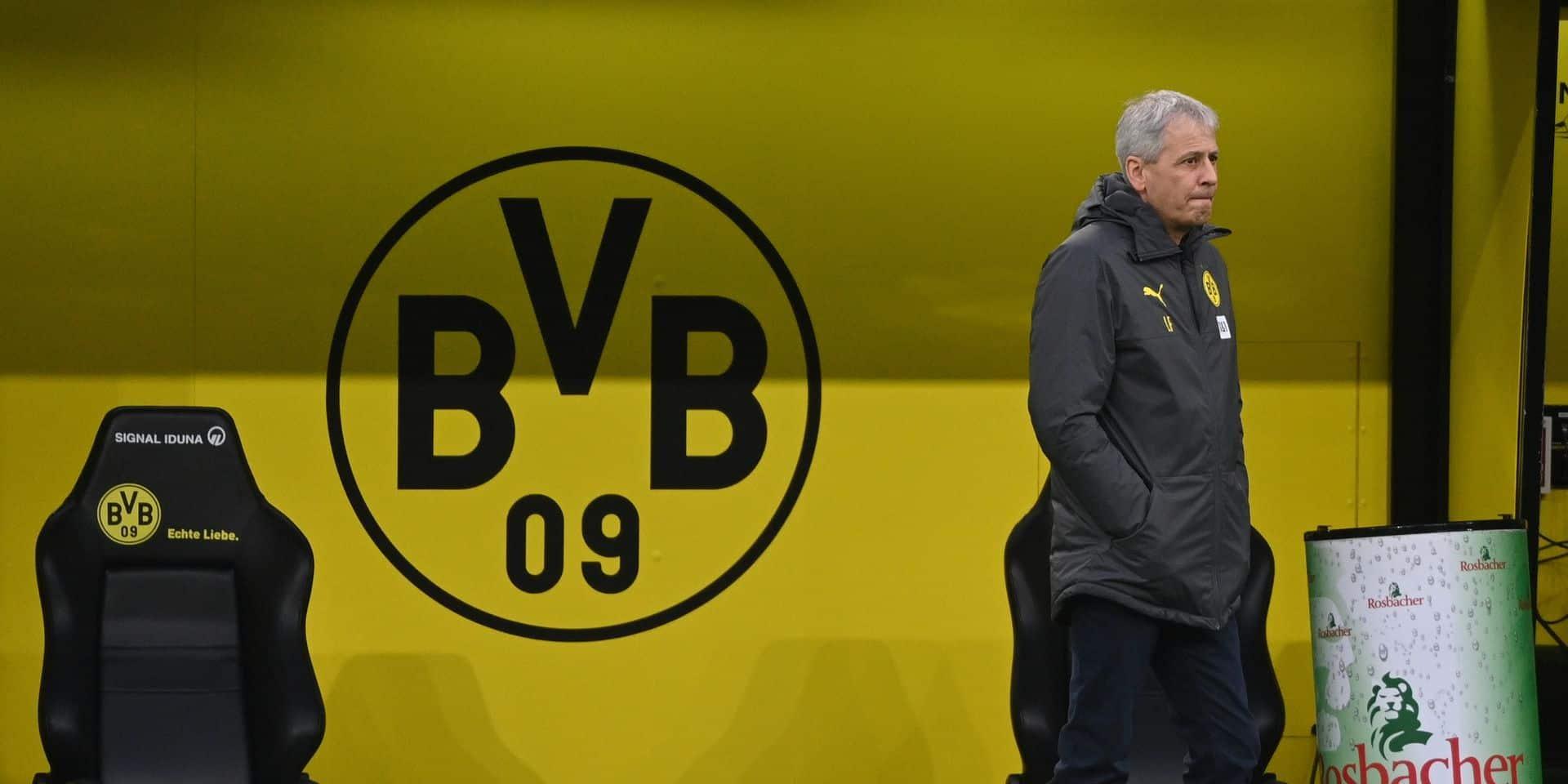 Lucien Favre viré de Dortmund